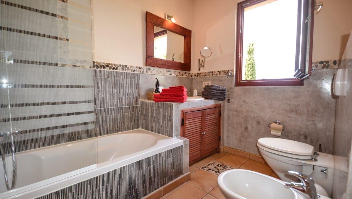 Badezimmer Finca Felanitx Mallorca