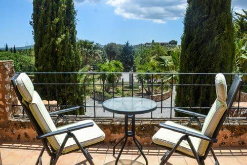 Immobilien Felanitx Finca Balkon