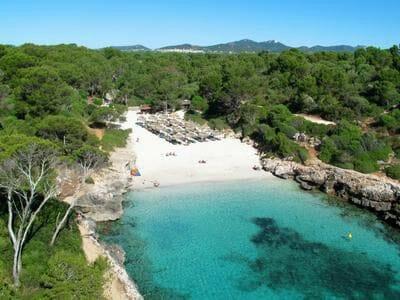 Mallorca Strand Cala Sanau