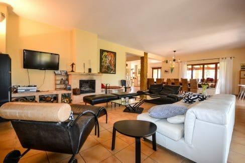 Wohnzimmer Luxus Finca Mallorca