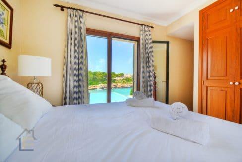 Schlafzimmer Villa Portocolom zu verkaufen