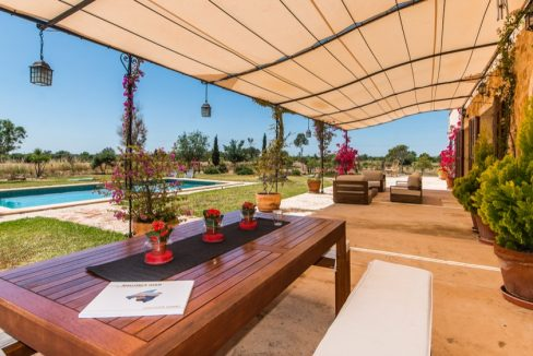 Finca rustica modern campos mit swimmingpool