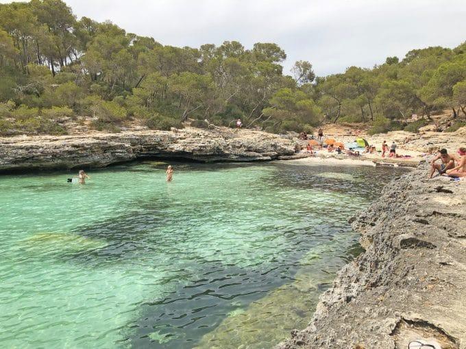 Calo d'es Borgit Santanyi Mallorca