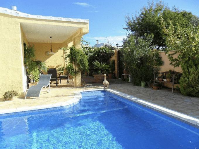 Swimmingpool Mallorca Immobilie Portocristo