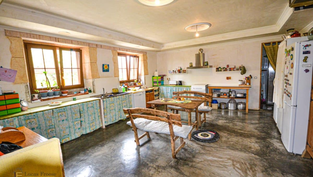 Finca Felanitx Immobilie Küche