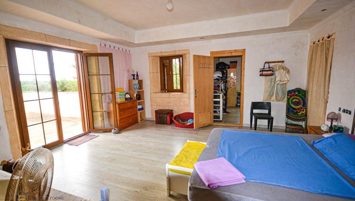 Finca Felanitx Immobilie Schlafzimmer