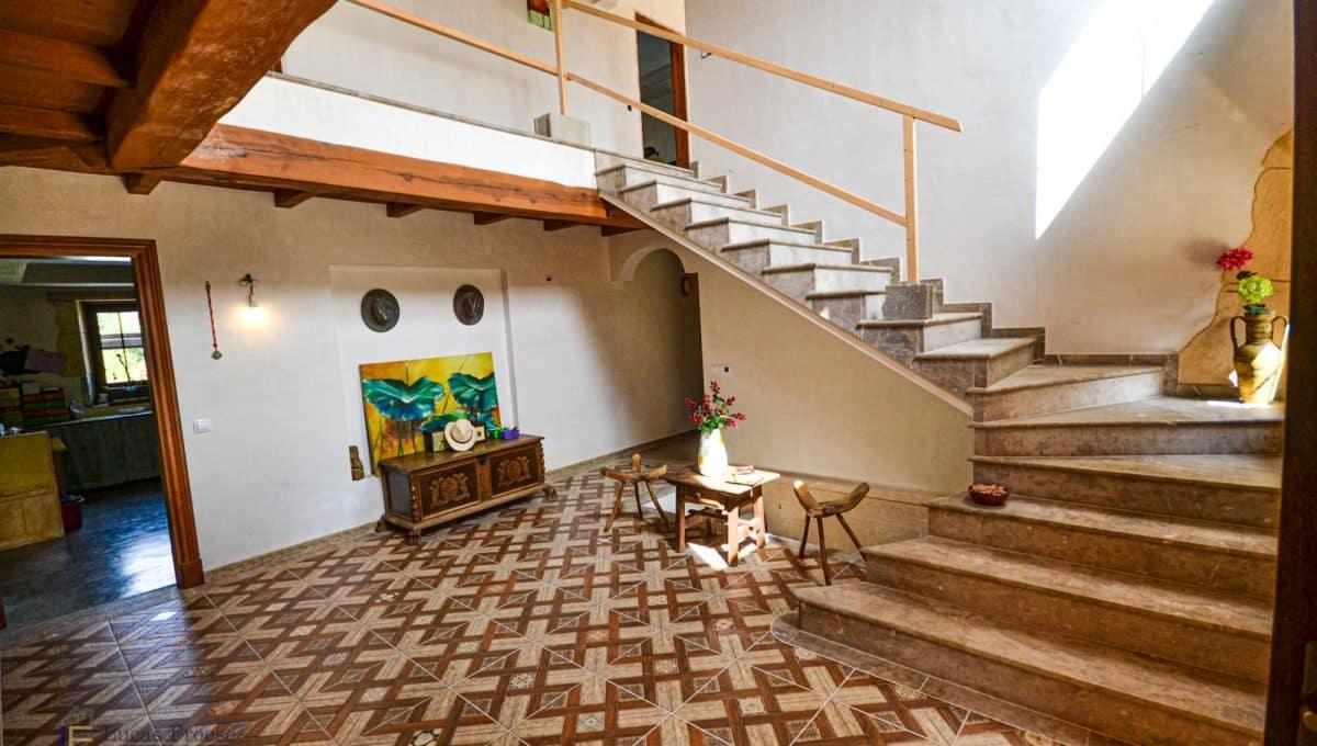 Finca Felanitx Immobilie Eingang