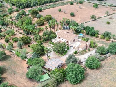 Finca Felanitx Immobilie Drone