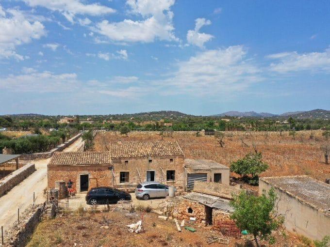 Mallorca Immobilie Portocristo Drone