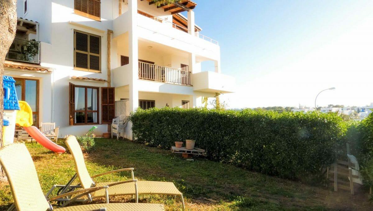 Wohnung mit Garten in Calador