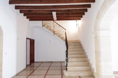 Treppe Herrenhaus Felanitx Mallorca