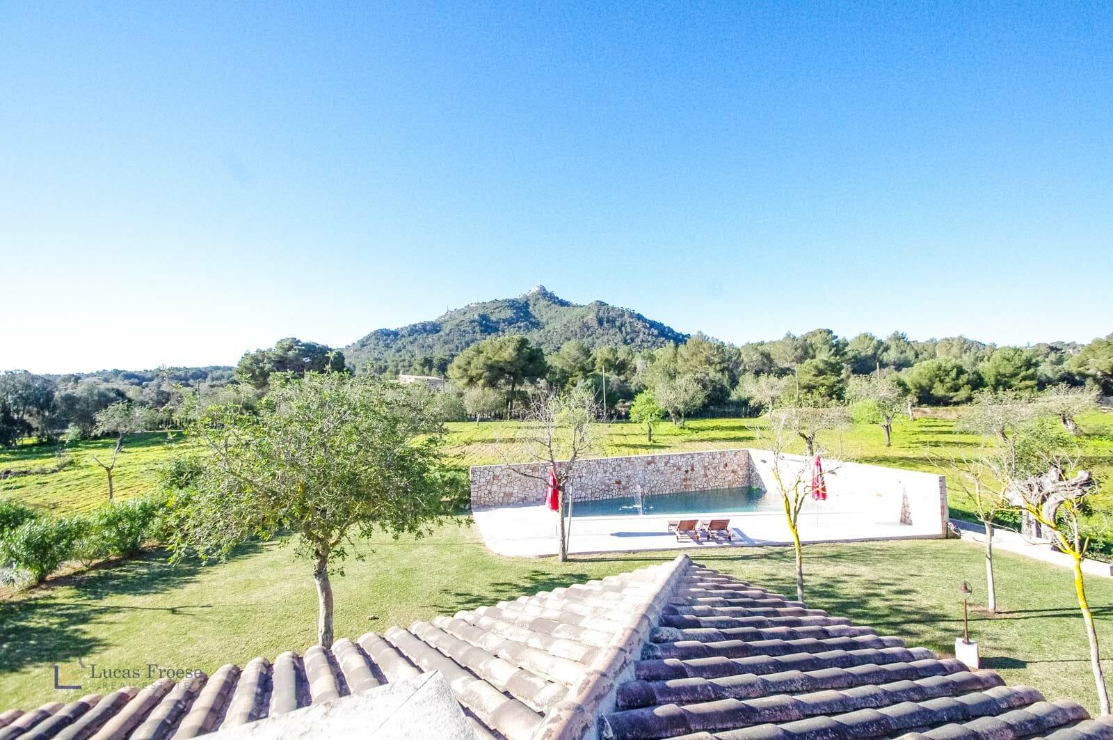 Moderne Finca mit Swimmingpool in Felanitx