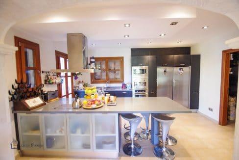 Moderne Küche Finca Felanitx