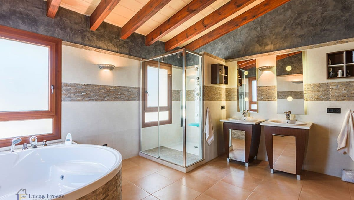 Luxus Finca Felanitx Badezimmer
