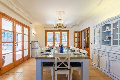 Helles Esszimmer Immobilie Mallorca