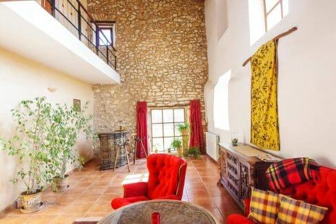 Wohnzimmer Rustikale Finca