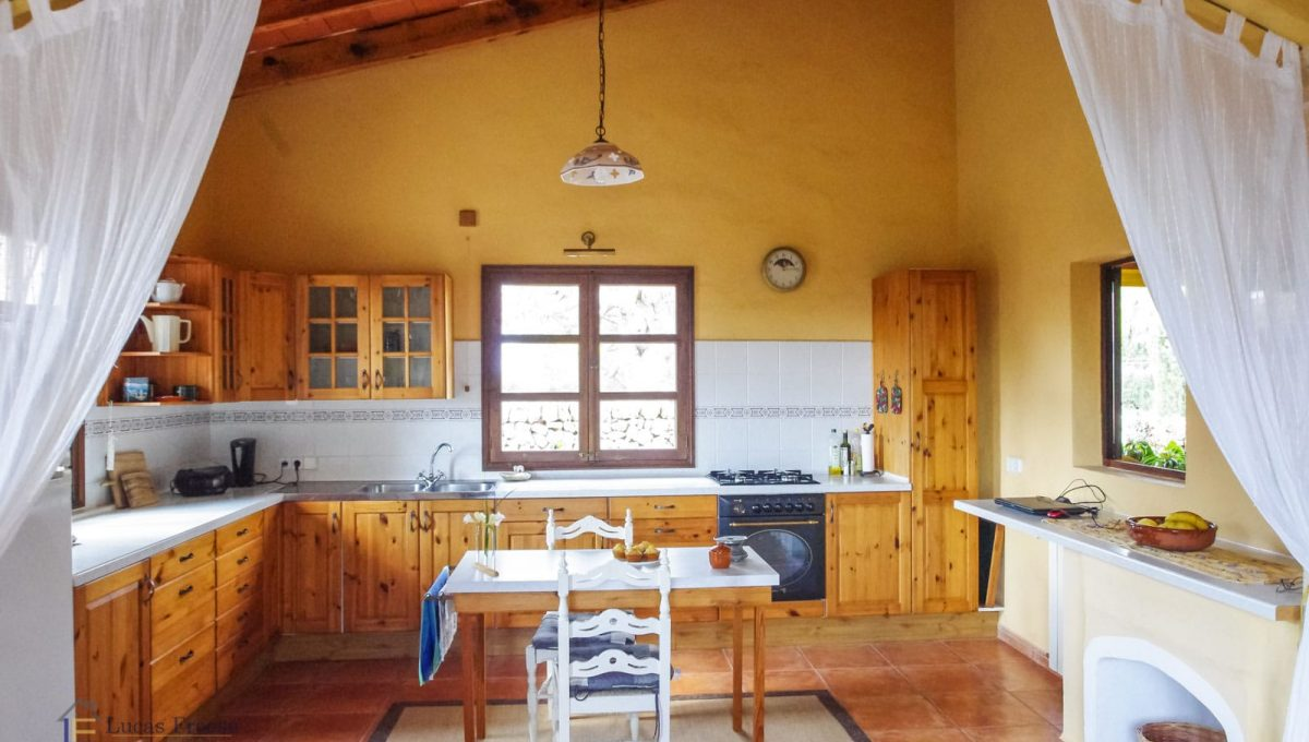 Küche Mallorca Finca Immobilie