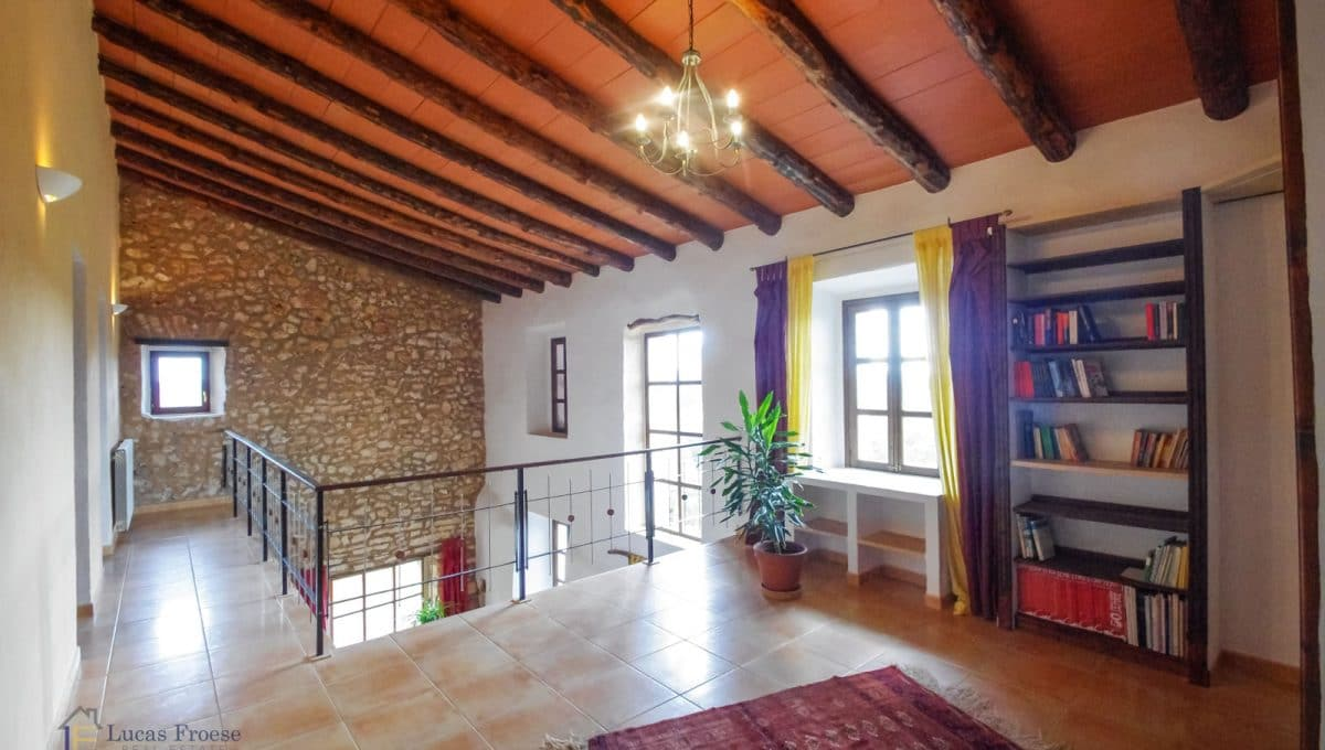 Durchgang Finca Immobilie Mallorca