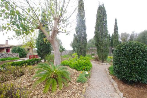Felanitx Finca Garten