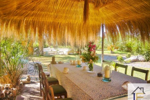 Terrasse Finca Portocolom zu verkaufen