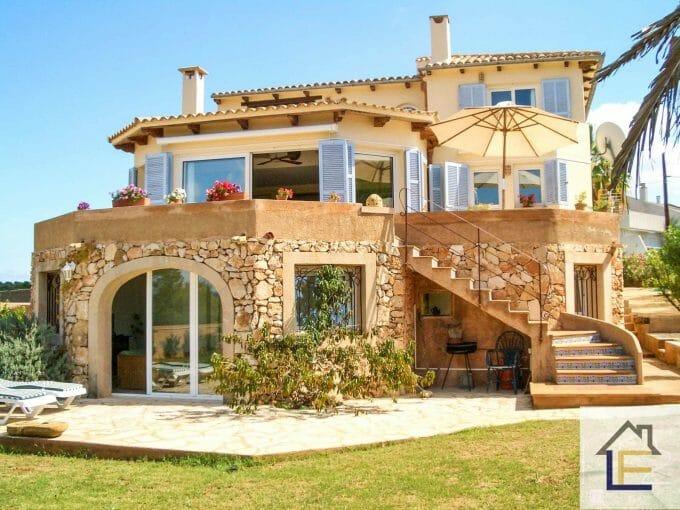 Immobilie, Porto Colom, Einfamilienhaus, Chalet, Garten