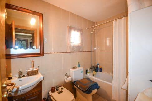 Wohnung Mallorca Campos Badezimmer