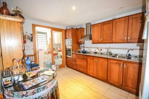 Wohnung Mallorca Campos Küche