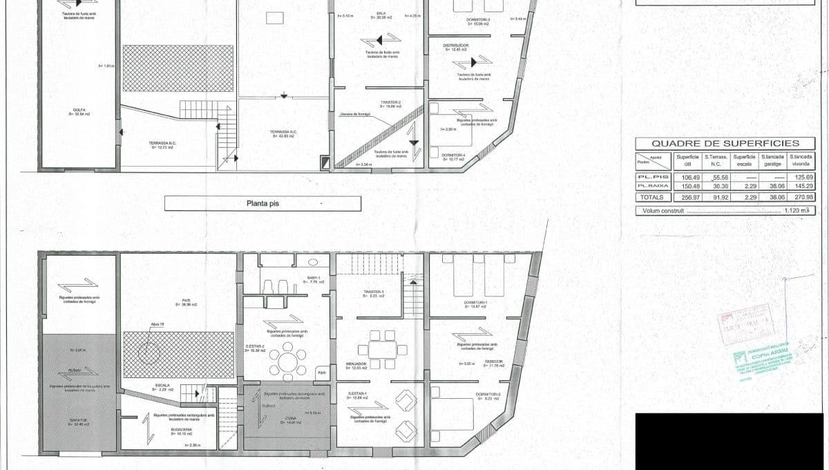 Felanitx-Herrenhaus-Pläne-Architekt-Skizzen-Raumaufteilung