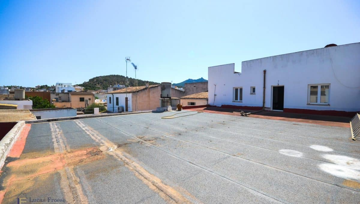Gewerbeimmobilie Felanitx Mallorca Terrasse