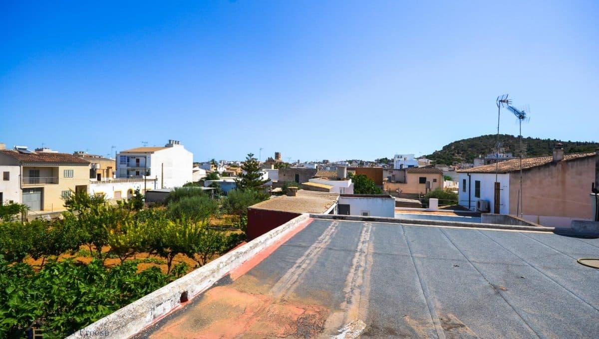 Terrasse Gewerbeimmobilie Felanitx Mallorca Office