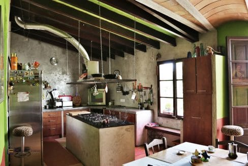 Renoviertes Stadthaus Felanitx Küche