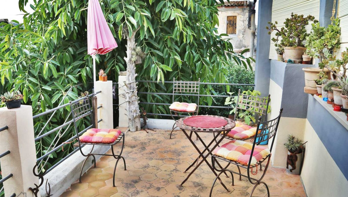 Renoviertes Stadthaus Felanitx Balkon