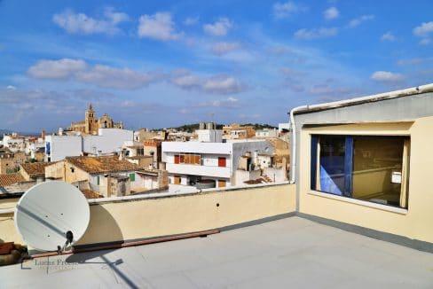 Renoviertes Stadthaus Felanitx Terrasse