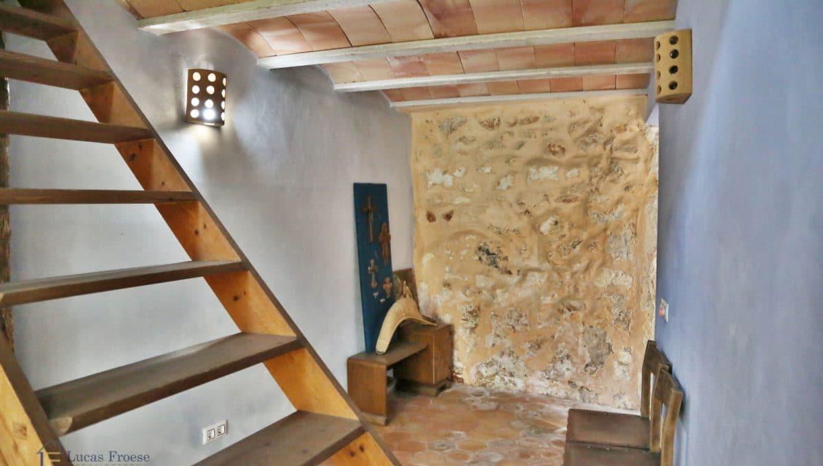 Renoviertes Stadthaus Felanitx Treppe