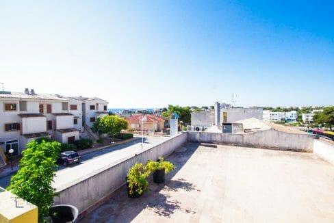 Terrasse Apartment Portocolom Mallorca
