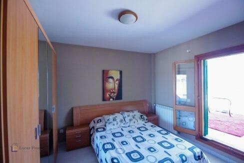 Schlafzimmer Portocolom Apartment Mallorca