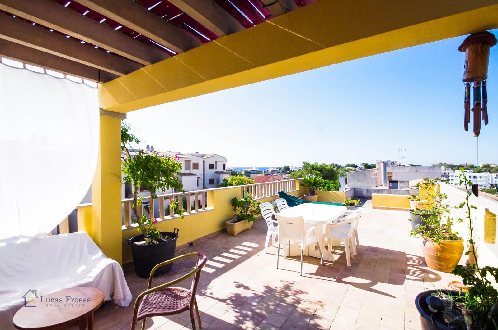 Penthouse 50m von Strand entfernt in Porto Colom