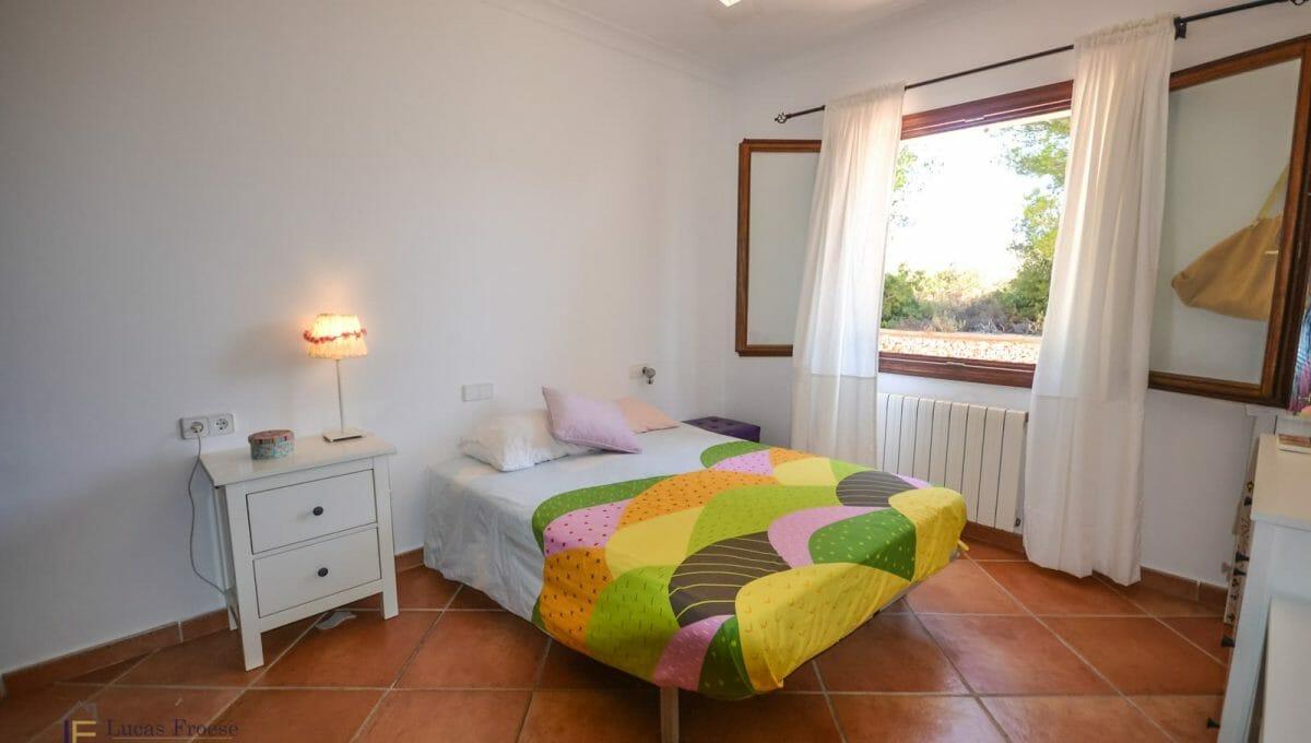 Schlafzimmer Finca Portocolom Mallorca