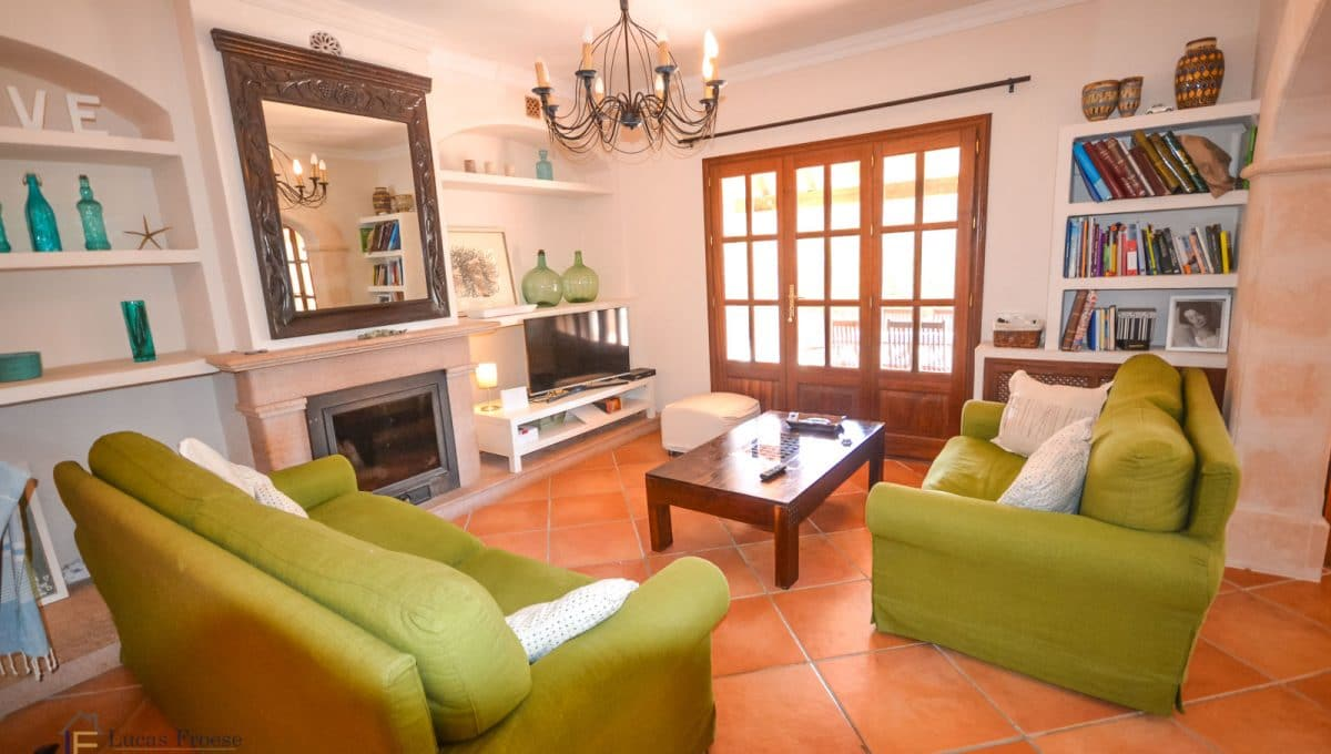 Mallorca Immobilie Finca Wohnzimmer