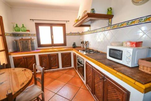 Portocolom Immobilie Küche Finca
