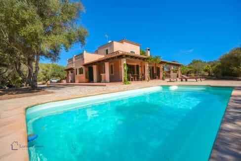 Finca Mallorca Immobilie Swimmingpool