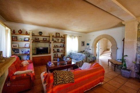 Wohnzimmer Finca Mallorca Felanitx