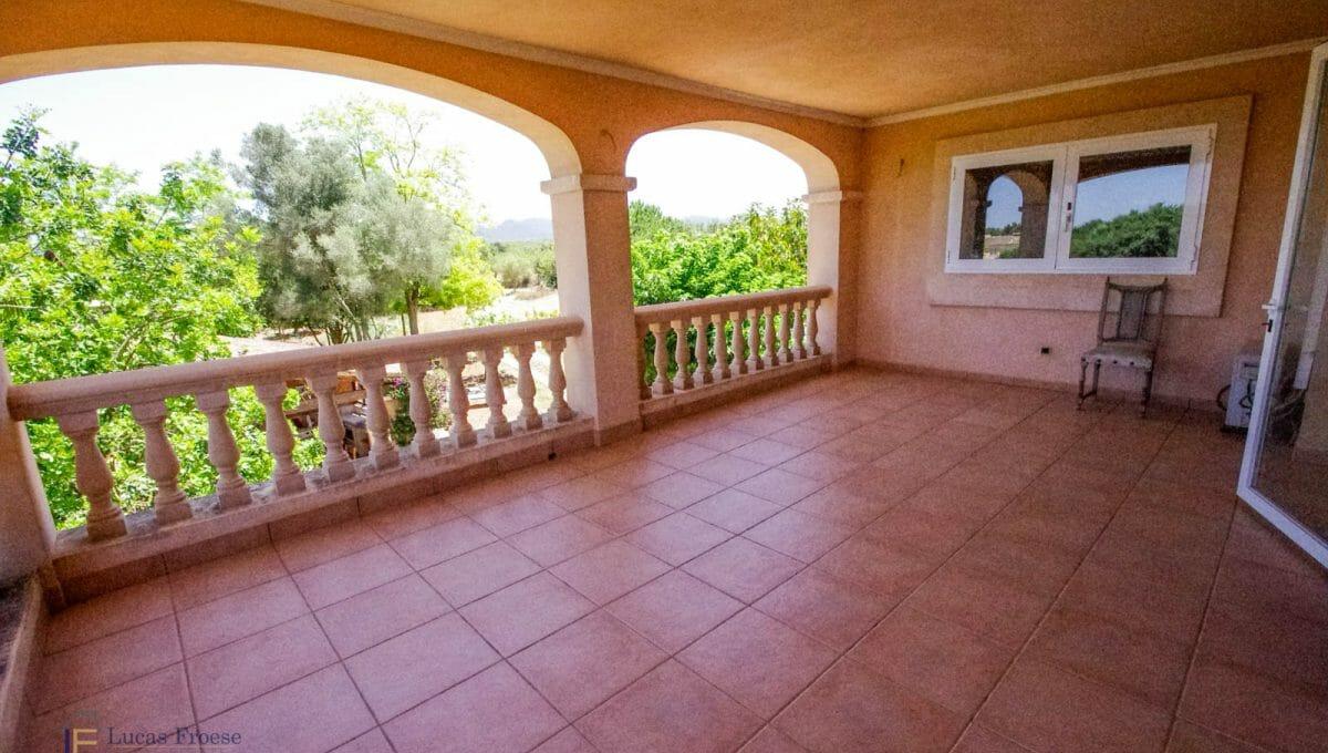 Terrasse Finca Felanitx Mallorca