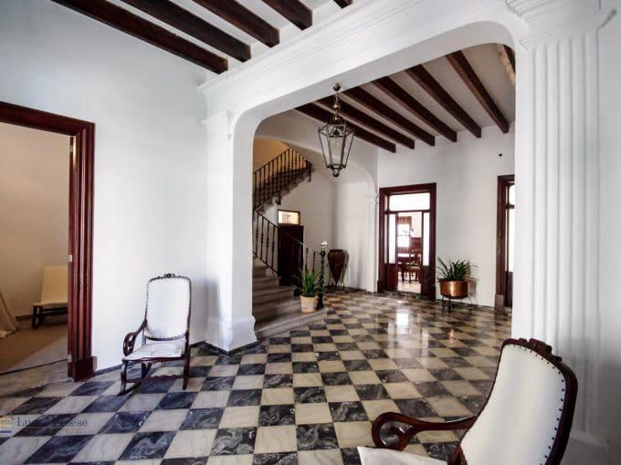 Felanitx Herrenhaus Mallorca Eingangshalle