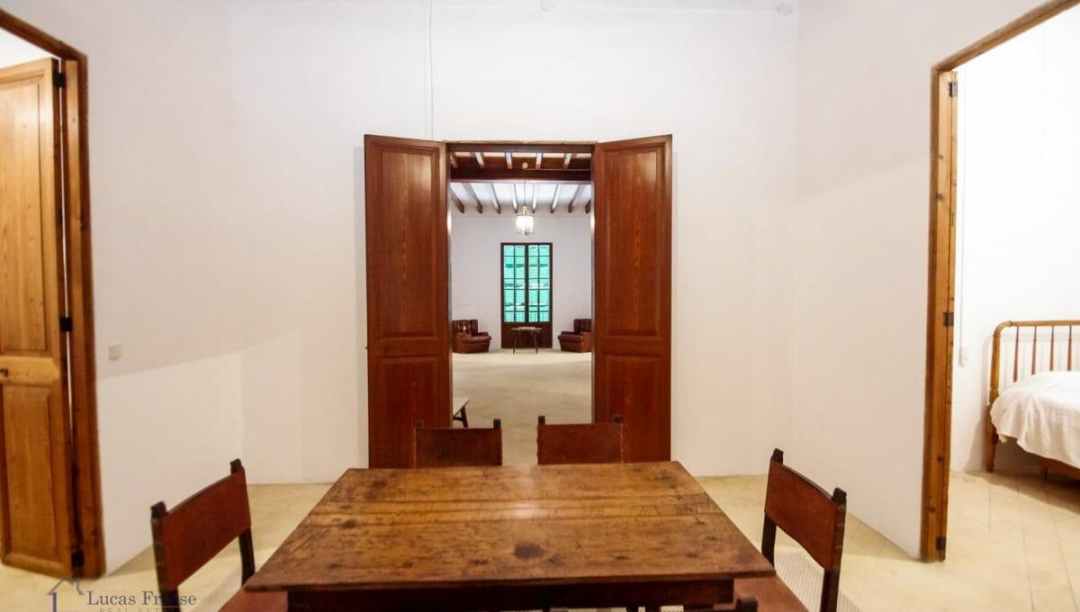 Felanitx Herrenhaus Mallorca Esszimmer