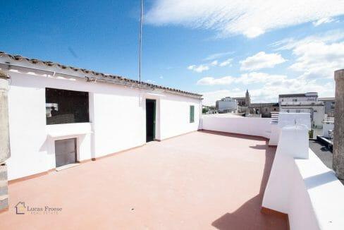 Felanitx Herrenhaus Mallorca Terrasse