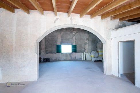 Felanitx Herrenhaus Mallorca Dachboden
