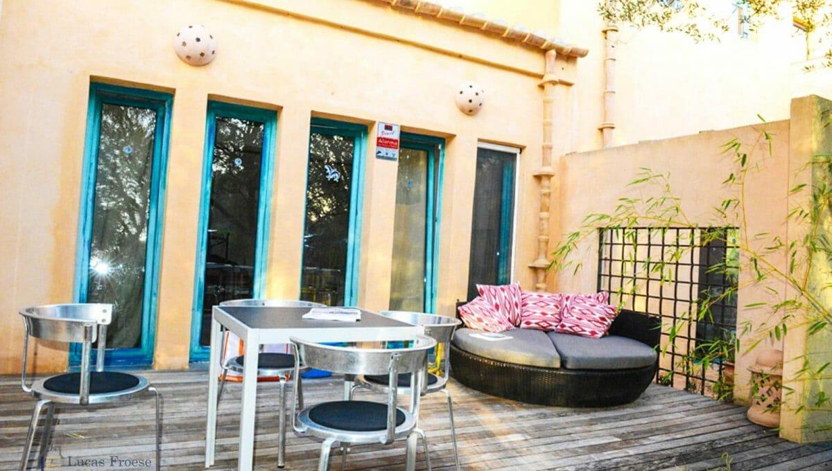 Terrasse Finca Santanyi Mallorca