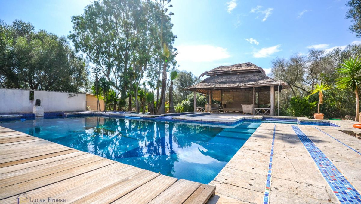 Immobilien Mallorca Finca mit Swimmingpool