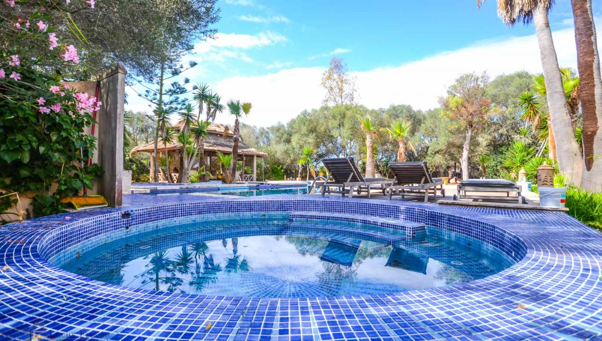 Swimmingpool Mallorca Immobilie Santanyi